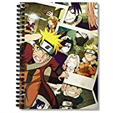 Spiral Notebook Naruto Planner Collage Journal Notebooks Journaling With Premium Thick Music Sheet