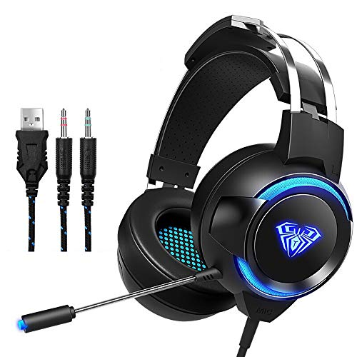 Gaming-Computer-Headset Head-Mounted-Gaming-Desktop-Subwoofer Internet Cafe Gaming