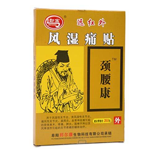 PENG 8Pcs / Set Chinesische Kräuterpflaster Arthritis Gelenkrheuma Schulterpflaster Orthopädische Nacken Rückenschmerzen Linderung Medizinische Aufkleber