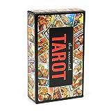 Tarot Cards, Tarot Classic Tarot Cards Deck para principiantes y lectores expertos en inglés completo, 80 tarjetas
