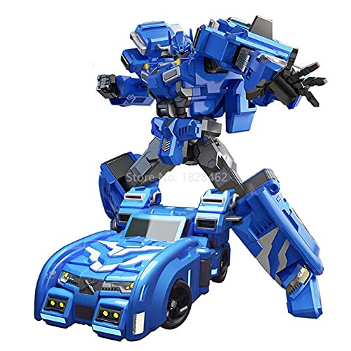 JICJANFENG Action figure 2020 Mini Force Robot Toys Action Figures Car Airplane Deformation Mini Agent Toy (Color : No Box 8901)