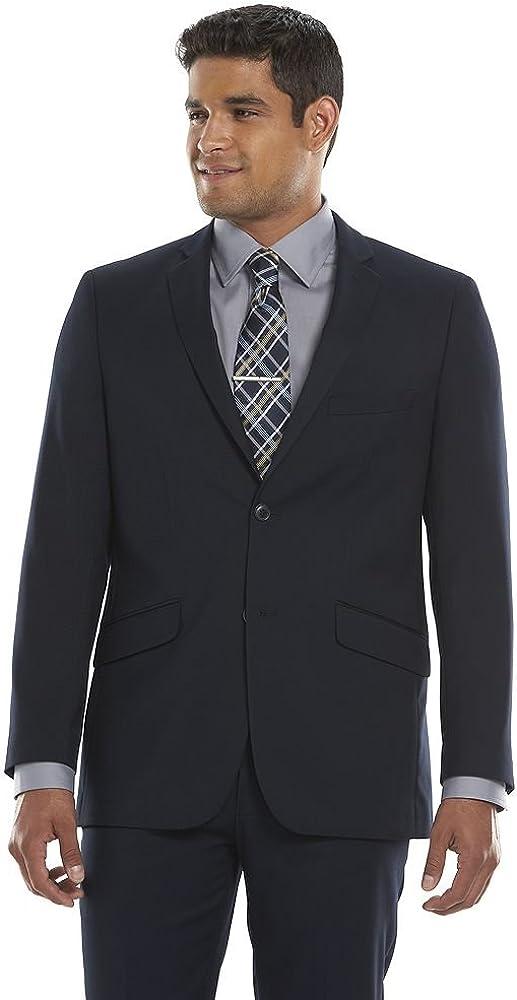 Lazetti Men's Single Breasted Modern-Fit Three Piece Wool Suit Set