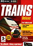 Trains Deluxe Pack 2: Trainz Railway Simulator, Create Your Own Model Railways Dleuxe and Train From The Lineside DVD Video (PC CD) [Import anglais]