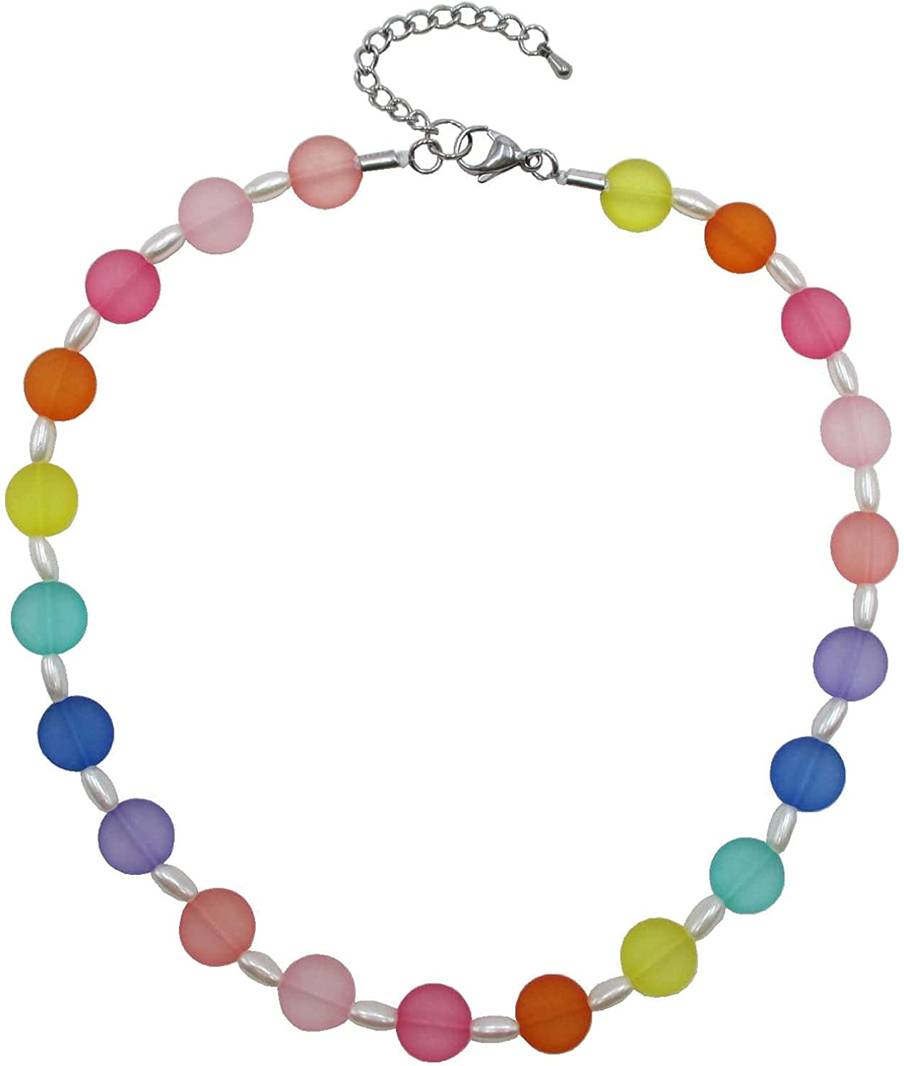 Trimscraft Statement Necklace Collar Choker Jewelry for Women and Girls