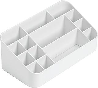 iDesign 35592 Clarity Vanity Organizer, White
