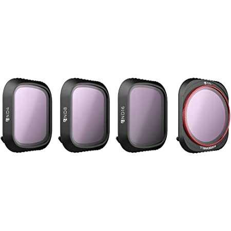 Freewell Standard Day - 4K Series - 4Pack ND4, ND8, ND16,PL Camera Lens Filters Compatible with Mavic 2 Pro Drone