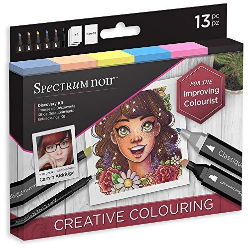 Spectrum Noir DISCOVER KIT COLORING, Creative Colouring