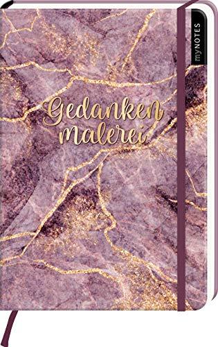 myNOTES Notizbuch A5: Gedankenmalerei - notebook medium, dotted - für Träume, Pläne und Ideen / ideal als Bullet Journal oder Tagebuch