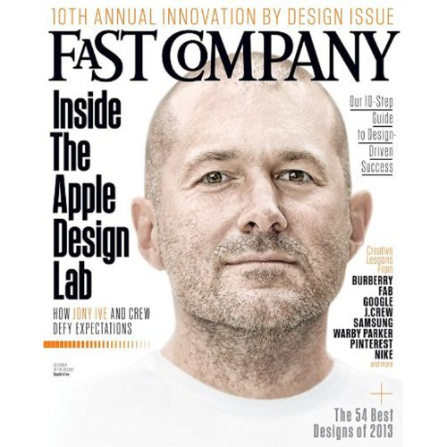 Audible Fast Company, October 2013 cover art