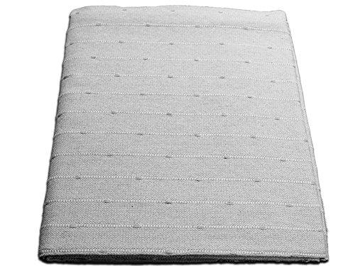 Lanovenanube - Plaid Multiusos Kenya 230x260 - Gris Perla