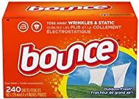 Bounce Outdoor Fresh Fabric Softener Sheets 240 Count by Bounce [並行輸入品]