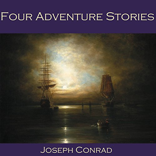 Four Adventure Stories audiobook cover art