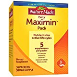 Nature Made Maximin Pack - Vitamins for Active Lifestyles, 30 Day Supply (Packaging May Vary)