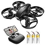 Potensic Mini Drone con Telecamera Telecomando Quadricottero...