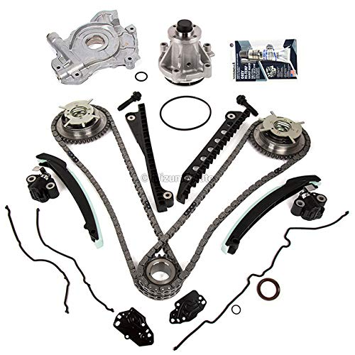 Mizumo Auto MA-4216912342 Timing Chain Kit Cam Phaser Oil Water Pump Gasket...