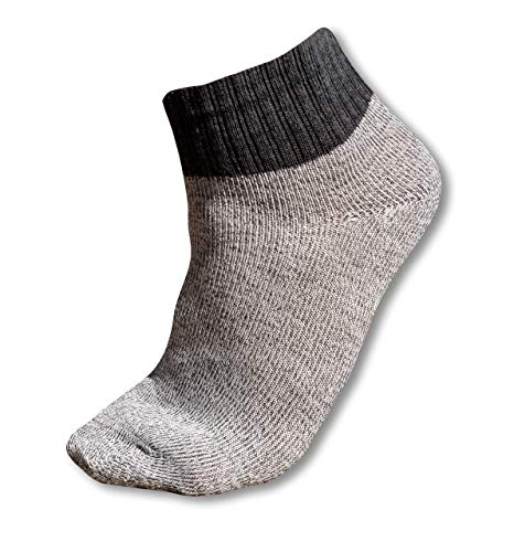 GainzCity Socks - Level 5 HPPE Fabric (Gray) (2 Pairs)
