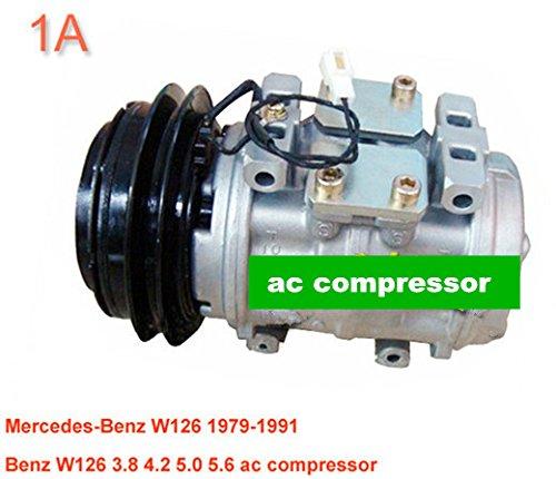 Gowe AC Kompressor für 10p17C AC Kompressor für Auto MercedesBenz W1241979–19910002341411047200–64700002302511