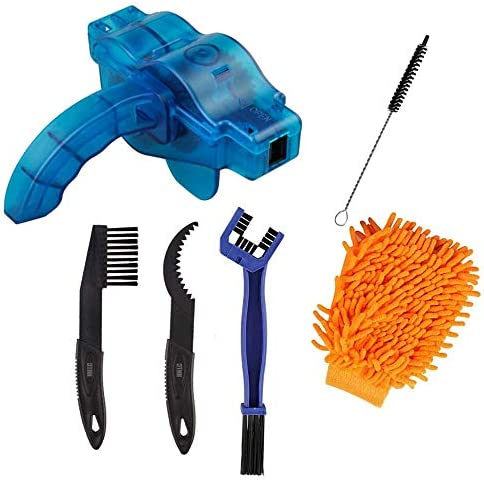 Bicycle Cleaning Brush Tools Set Including Bike Chain Scrubber Suitable for Mountain Road City product image