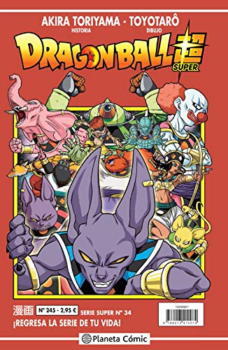 Dragon Ball Serie Roja nº 245 (Manga Shonen)