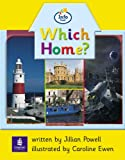 Info Trail Beginner Stage Which Home? Set of 6 Non-fiction Book 1 (LITERACY LAND)