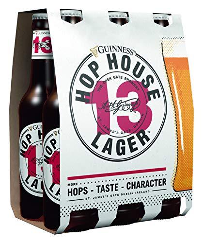 Guinness Hop House 13 Lager MEHRWEG, (6 x 0,33 l)
