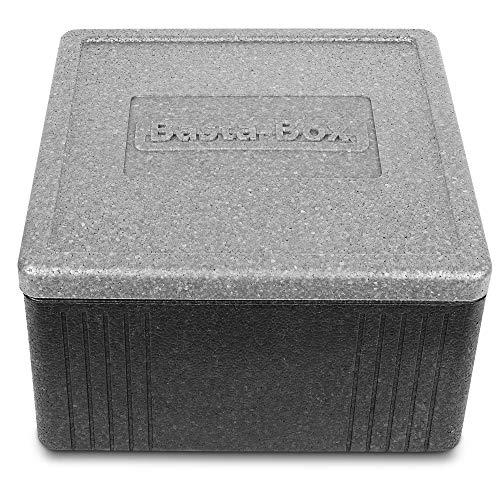 Lisk. Basta Box - Thermobox mit Deckel aus hochwertigem EPP für den Transport von Lebensmitteln (20 Liter)