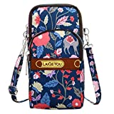 Fashion Women Girls Neutral Nylon Students Outdoor Sports Arm Bag Phone Bag Shoulder Bag