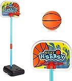 Canasta de baloncesto Soporte de los niños de baloncesto, levantador de interior y al aire libre, gimnasio soporte del baloncesto, baloncesto de los niños Set, sistema de red seguro ajustable del aro
