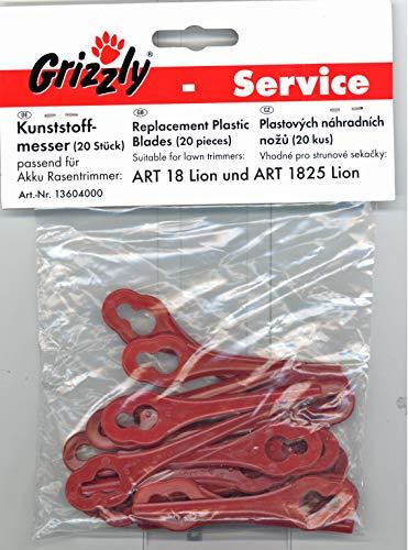 Grizzly Ersatzmesser für Akku-Rasentrimmer