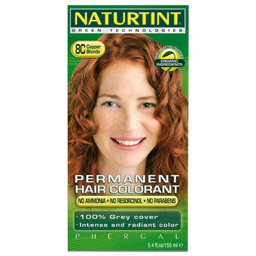 - Naturtint - Hair Dye - 8C Copper Blonde | 135ml | BUNDLE by Naturtint