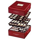 Lauensteiner Pralinen-Auslese | 1.300g in Geschenkbox - 90 feinste Pralinen, 33 Sorten mit/ohne Alkohol - Ideales Geschenk für Frauen und Männer