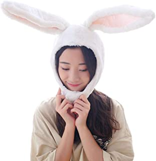 Cuteboom Rabbit Hat Eastern Bunny Hat Bunny Ears Funny Party Hats Holiday Hat Cute Costume for Men and Women