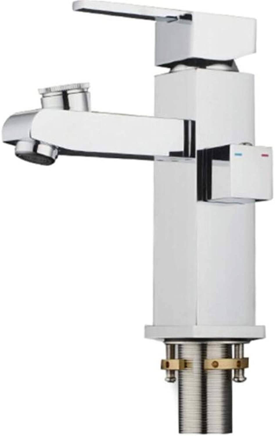 Taps Mixer?Swivel?Faucet Sink Dual Cold and Hot Faucets for Washbasin