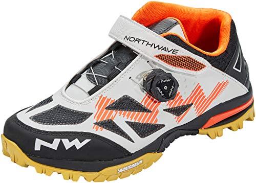 Northwave Enduro Mid 2021 - Zapatillas para bicicleta de montaña, color blanco y negro, color, talla 44 EU