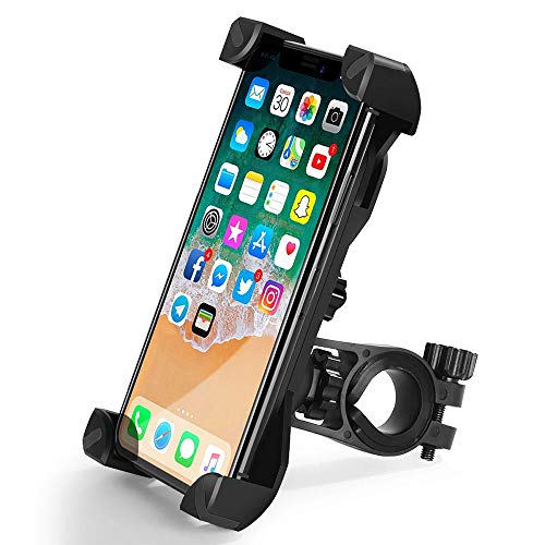 Bicycle Cell Phone Holder AntiVibration Mountain Bike Mobile Mount with 360 ° Rotation for Motorcycle Stroller Universal Handlebar for 35quot65quot Smartphones