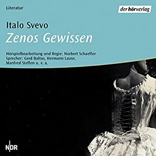 Zenos Gewissen                   Autor:                                                                                                                                 Italo Svevo                               Sprecher:                                                                                                                                 Norbert Schaeffer                      Spieldauer: 2 Std. und 29 Min.     8 Bewertungen     Gesamt 4,5