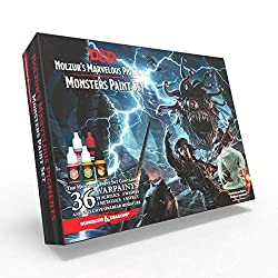 dungeons and dragons paint line monsters paint set