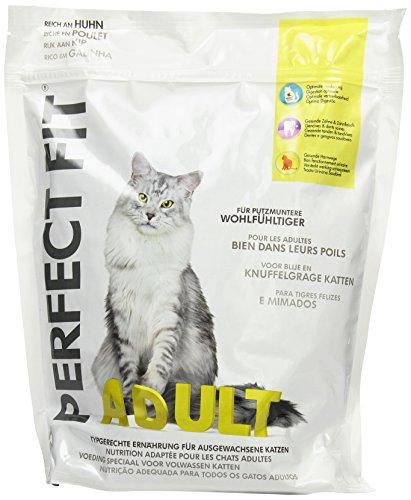 Perfect Fit Volwassen kattenvoer rijk aan kip, 4 verpakkingen (4 x 1,4 kg)