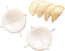 Magiin Lot de 3 Presse /à P/âte et Moule /à Dumplings Tarte Raviolis en Acier Inoxydable Moule /à P/âtisserie Ustensiles de Cuisine Dumpling Maker Sertisseur P/âtisserie