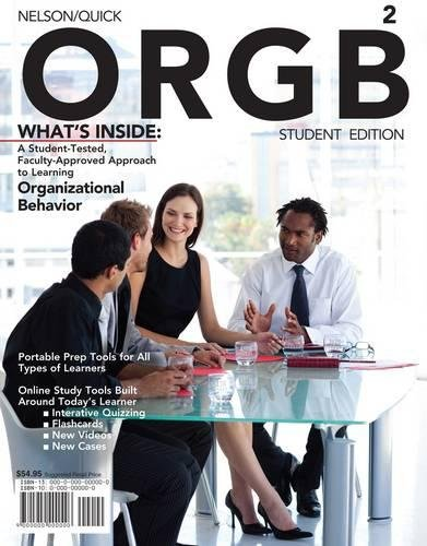 ORGB 2 (with Review Cards and Management CourseMate with...