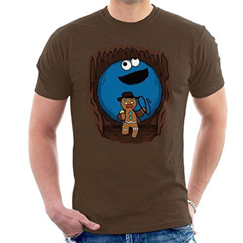 Cloud City 7 Indiana Jones Cookie Monster Gingerbread Man Mix Mens T-Shirt