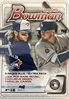 2020 Bowman Baseball Series Unopened Blaster Box Made By Topps Possible Prospects, Retail Exclusive Inserts and Autographs