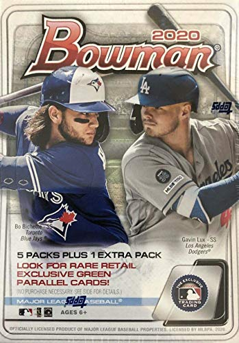 cheap Bowman Baseball Series 2020 Unopened Blaster Box by Topps Potential Prospects、Retailers…