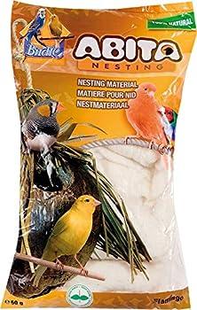 FLAMINGO Matière Nid Abita Coton pour Oiseau 50 g