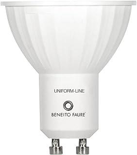 Beneito&Fauré - Bombilla Led 6 Watios Uniform Line. Casquillo GU10, color de Luz 4000K y 430 Lumenes)