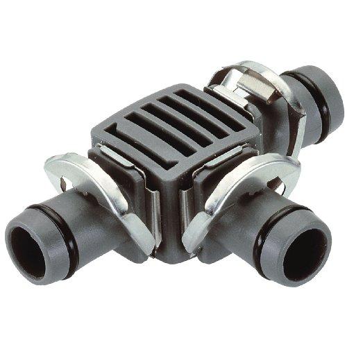 Gardena Micro-Drip-System T-Stück, 13mm (1/2 Zoll): Praktische Verbindung zur Abzweigung des Verlegerohrs (8329-20)