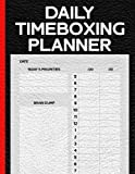 Daily Timeboxing Planner: Time Block Journal for Hourly Productivity, To-Do List, Time Management (100 Days, A4)