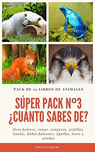 SÚPER PACK Nº3 ¿CUÁNTO SABES DE...?: Pack de 10 libros. Datos ...