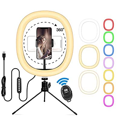 10'' Ring Light with Stand  Phone Holde...