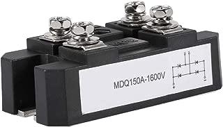 Aeloa Single-Phase Diode Bridge Rectifier 150A Amp High Power 1600V Black (1pc)